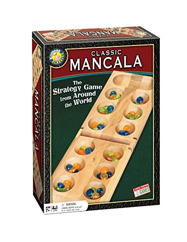 Classic Mancala - Fun Board Game for Friends and Family - Timeless Strategy Game
