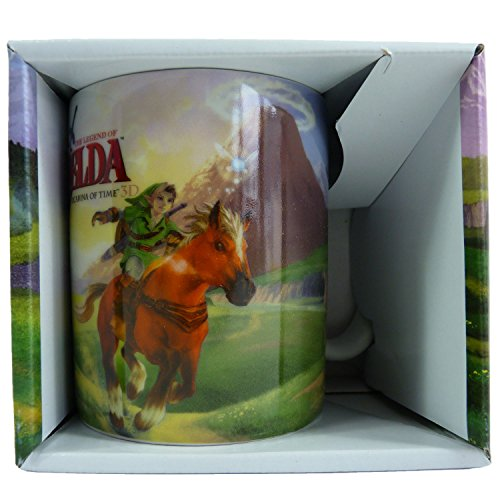 Zelda 320 ml Nintendo Legend of Zelda Ocarina of Time Mug, Green Zelda 320 ml Nintendo Legend of Zelda Ocarina of Time Mug, Verde