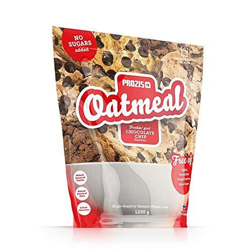 Oatmeal   Cereales Repletos de Proteínas, Hidratos de Carbono de Alta Calidad y Fibras Saciantes   Sabor Pepitas de chocolate   1250 g