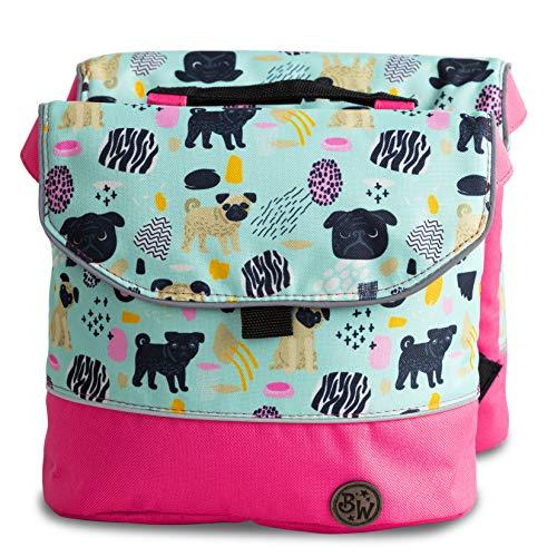 BambinIWelt Gepäcktasche, Gepäckträgertasche für Fahrrad, Fahrradtasche für Kinder, wasserabweisend, z.B. für alle Puky Räder (Modell 19)