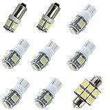 For Infiniti G35 G37 Sedan Led Interior Lights Led Interior Car Lights Bulbs Kit...