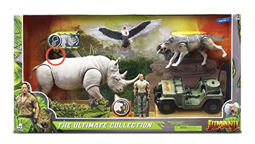 Jumanji The Ultimate Collection Exclusive Figure 4-Pack Set