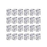 LEBQ 50 Piezas Dreadlocks Beads Anillos de Rastas de Aluminio Ajustables Decoración de Pelo Trenzado (Plateado)