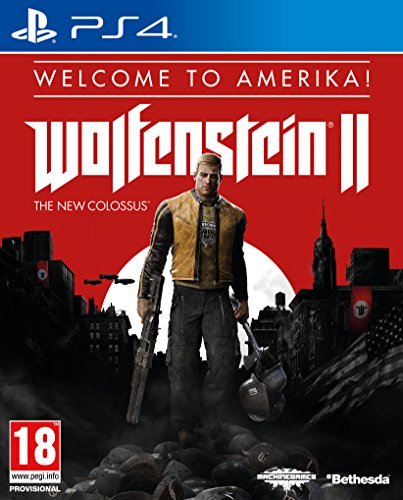 """Wolfenstein II: The New Colossus """"Welcome to Amerika"""" Pack - PlayStation 4 [Importación inglesa]"""