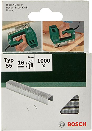 Bosch 2609255827 DIY Klammern Typ 55 6 x 1.08 x 16 mm