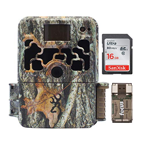 Browning Trail Cameras Dark Ops Extreme 16MP Game Camera with 16GB SD Card and Focus USB Reader