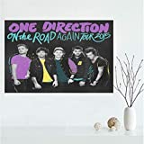 QIANLIYAN Promi Leinwand One Direction Poster Kunst
