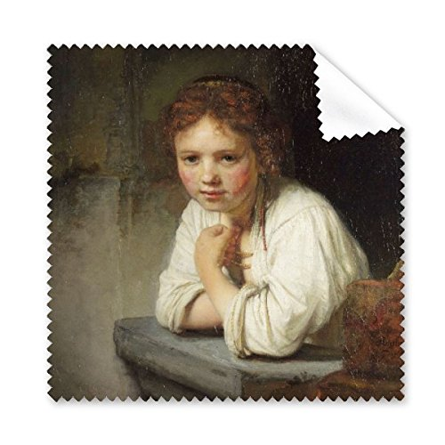 Maid Rembrandt Harmenszoon van Rijn Beroemde Olie Panintings Oliën Bril Doek Schoonmaak Doek Telefoon Scherm Cleaner 5 stks