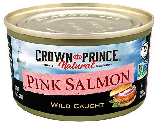 Crown Prince Natural Pink Salmon - Low in Sodium,...