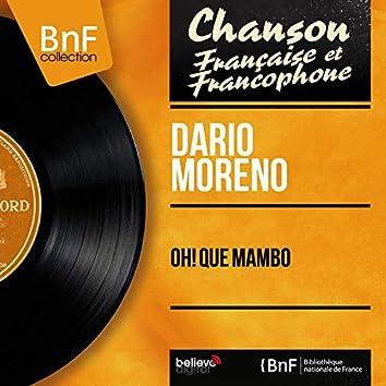 Oh! Qué Mambo (feat. Claude Bolling et son orchestre) [Mono Version]