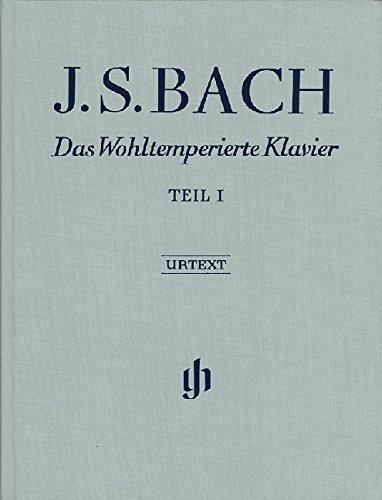 Das Wohltemperierte Klavier Teil I BWV 846-869; Leinenausgabe