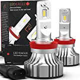 LEDEAGLE H11 LED Headlight Bulbs Outshines at Night Coversion Kit for Projector Reflector