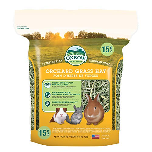 Oxbow Bene Terra HAY for Rabbits Guinea Pigs Chinchillas ORCHARD GRASS HAY 425 g