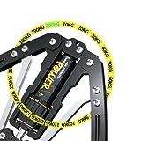 Depmog Barra Twister Ajustable, Ejercicio de Resistencia de Doble Resorte Barra torsión Ejercicio, 10-200Kg, Máquina Entrenamiento de Pecho y Brazo