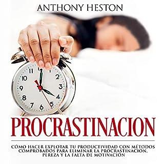 Procrastinacion [Procrastination] audiobook cover art
