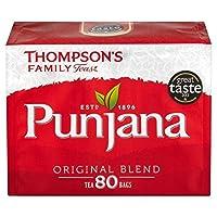 1パックトンプソンPunjanaティーバッグ80 - Thompsons Punjana Tea Bags 80 per pack [並行輸入品]