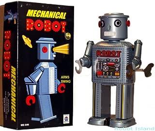 Giant R-35 Robot Tin Toy Windup