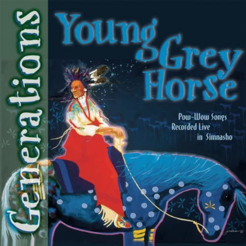 Young Grey Horse