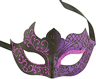 Assorted Venetian Party Mask Multicolored