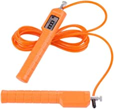HFDA Steel draad gewicht dragende springtouw fitness gewichtsverlies oefening vetverbranding (telling-oranje)