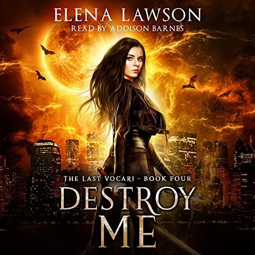 Destroy Me cover art