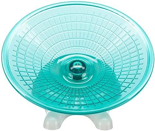 Disque d'exercice pour hamsters et souris, ø 17 cm - particulièrement léger et silencieux mais base solide,