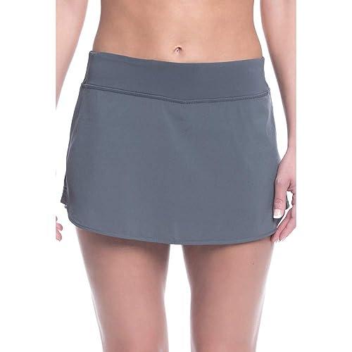 07dcd01e0 Jessie Kidden Women's Anytime Active Athletic Skort Lightweight Skirt  Leggings with Pockets for Running Tennis dress