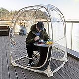 "Leedor Weather-Proof Pod Bubble Tent Outdoor Instant Pop Up Shelter Patent Pending 45""x45""x62"""