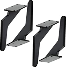 Knife Design Furniture Feet, Sofa Feet, Inclined Black Corner Sofa Legs, Single Weight Up to 625g, Thick Materials, Used i...