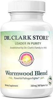 Dr. Clark Wormwood Blend, 330 mg 100 Vegetarian Capsules