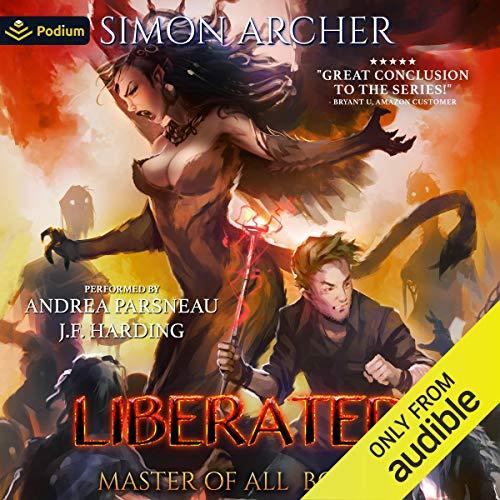 Page de couverture de Liberated