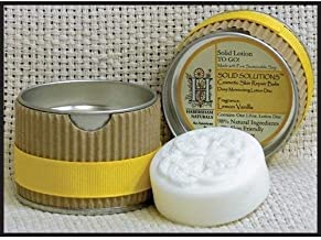 product image for Habersham Candle Company Lemon Vanilla Solid Solutions Solid Lotion TO GO!