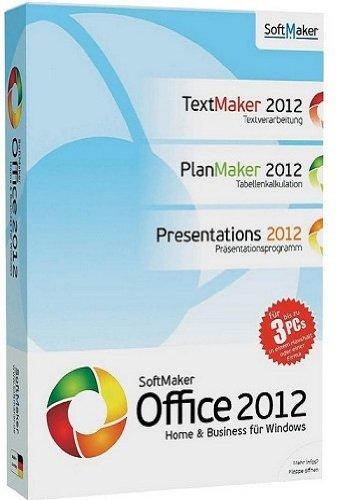 SOFTMAKER Office 2012 Home & Business - 3 User (kompatibel zu Word, Excel, PowerPoint, PDF, Export, Windows 7, Windows 8) [import allemand]
