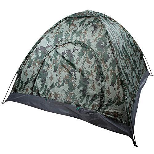 MAGT Tent, draagbaar 3-4 persoon enkele laag Shelter Tent Stabiel voor Outdoor Camping Wandelen Backpacking
