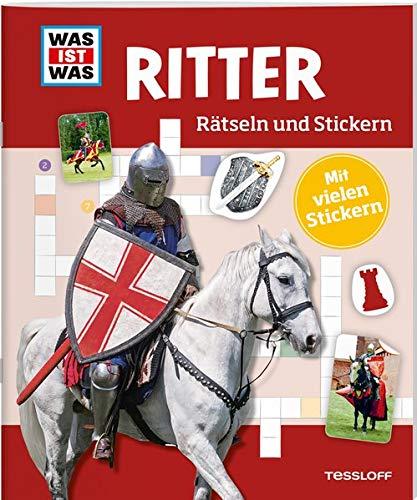 WAS IST WAS Rätseln und Stickern: Ritter (WAS IST WAS Rätselhefte)