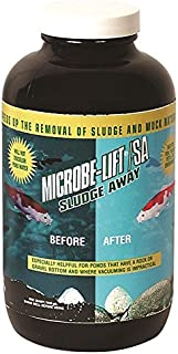 Microbe Lift 32-Ounce Pond Microbe-Lift Sludge Away MLXSAQ, Brown/A