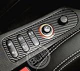 YUWATON - Panel de botones de control central para el asiento del coche para Seat Leon Cupra.