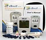 ebwell eb-w01Glucosa En Sangre Monitor Starter Pack Ideal Medidor de glucosa Medidor para diabéticos