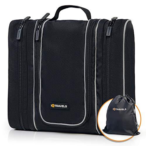 Travel Kit - Hanging Toiletry Bag for Men - Cosmetic Organizer for Men   Travel...