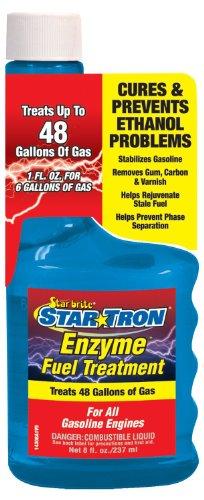 Starbrite Star Tron - Tratamiento de Gasolina de Encimas - Alivia & Previene Problemas de Combustible, Botella de 250ml