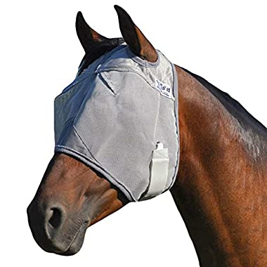 Cashel Crusader Standard Fly Mask No Ears or Nose - Size: Arab, Cob, Small Quarter Horse