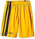 Spalding Bekleidung Teamsport MVP Shorts - Pantalones cortos de baloncesto para hombre, color amarillo/negro, talla XXS