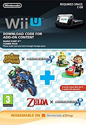 Mario Kart 8: Combo Pack DLC [Wii U Download Code]