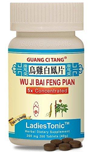 Wu Ji Bai Feng Pian (Wan) (LadiesTonic) 200 mg 200 Tablets by Guang Ci Tang