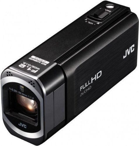 JVC GZ-V515 BEU HD-Camcorder (10-Fach Opt. Zoom, 7,6 cm (3 Zoll) LCD-Display, SDHC/SDXC-Kartenslot, Mini-HDMI, USB 2.0)