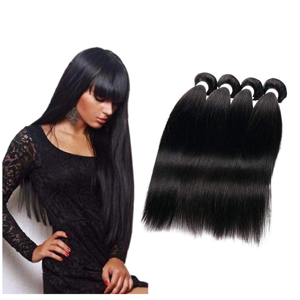 やさしい論文存在する女性のためのかつら 130% 密度バージンブラジルストレート人毛グルーレスレース前頭かつらと赤ちゃんの髪