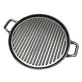 SENFEISM Aliexpress - Sartén antiadherente de 30 cm de hierro fundido a rayas grueso para carne