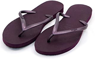 Dupe Aubergine Flip Flop Thong Design Slipper for Women