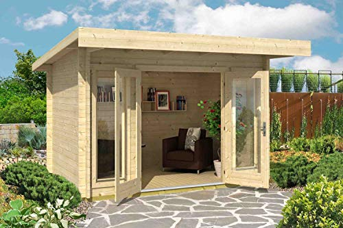 Lasita Maja Gartenhaus Barbados Mini I Wandstärke 44 mm