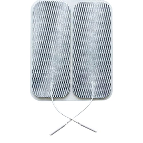 20 Stück selbstklebende Elektroden von der Marke ZEN-QI, 50x130 mm. Wiederverwendbar. Für TENS TIMS EMS Reizstrom-Geräte mit 2 mm-Stecker-Anschluss.